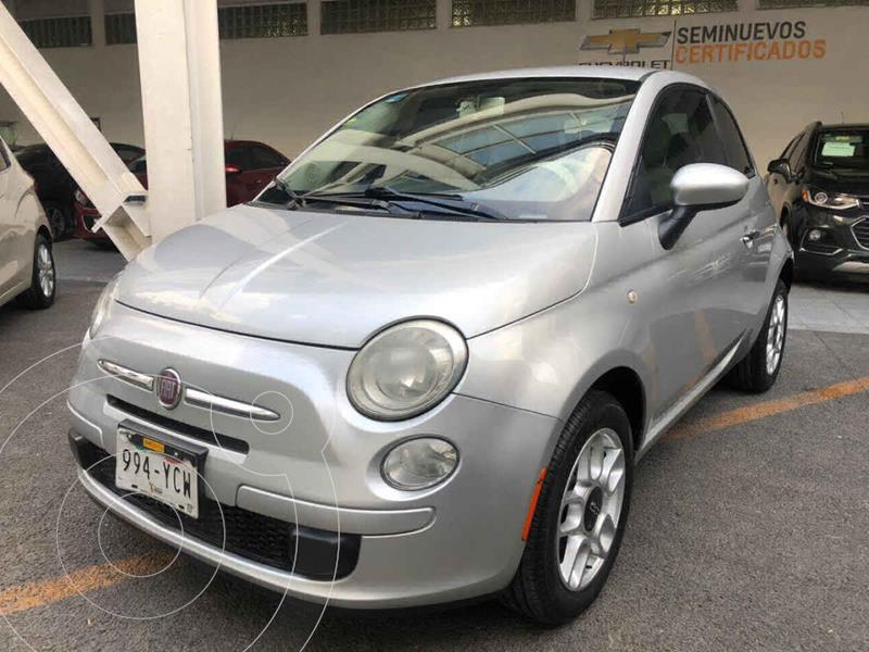 Fiat 500 Pop  usado (2012) color Beige precio $119,000
