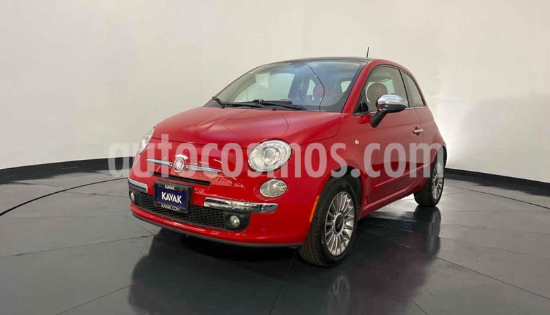 Fiat 500 Lounge usado (2016) color Rojo precio $209,999