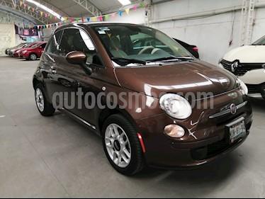 Fiat 500 Trendy usado (2015) color Espresso precio $126,500