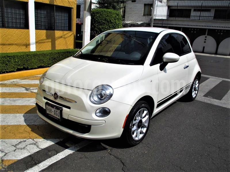 Fiat 500 Pop usado (2016) color Blanco precio $169,900
