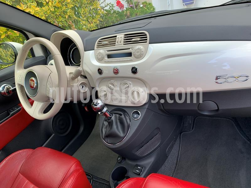 Fiat 500 Sport usado (2015) color Blanco precio $133,000