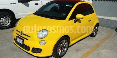 Fiat 500 Sport Aut usado (2015) color Amarillo precio $169,000