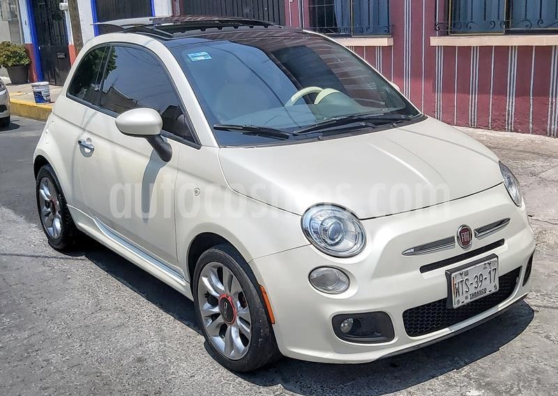 Fiat 500 Sport Aut usado (2015) color Blanco precio $158,000