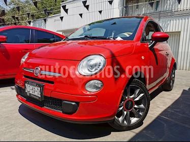 Fiat 500 Pop usado (2014) color Rojo precio $115,000