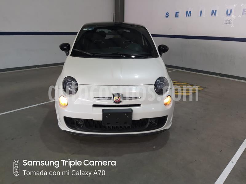 Fiat 500 Abarth Aut usado (2017) color Blanco precio $250,000