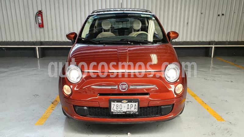 Fiat 500 Trendy Aut usado (2014) color Celeste precio $159,000