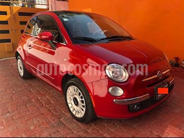 Fiat 500 Lounge Aut usado (2012) color Rojo precio $133,000