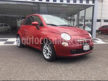 Fiat 500 Trendy usado (2015) color Rojo precio $150,000