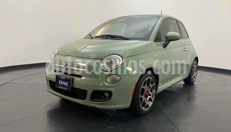 Fiat 500 Sport Aut usado (2013) color Verde precio $152,999