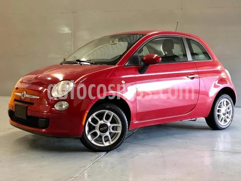 Fiat 500 Pop usado (2012) color Rojo precio $99,000