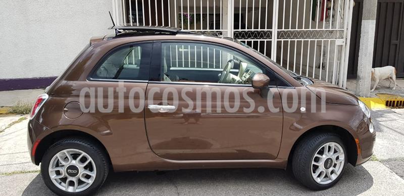 Fiat 500 Trendy usado (2015) color Mocha precio $160,000