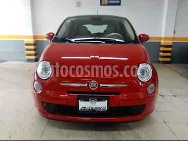 Fiat 500 Trendy Aut usado (2015) color Rojo precio $165,000