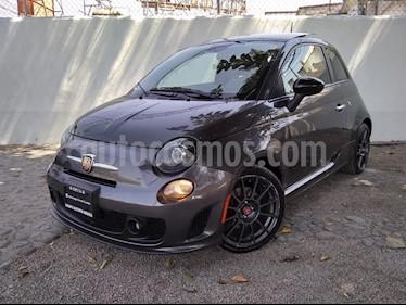 Fiat 500 Abarth usado (2015) color Negro precio $195,000