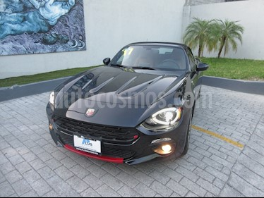 Fiat 500 Lounge Convertible usado (2017) color Negro precio $490,000