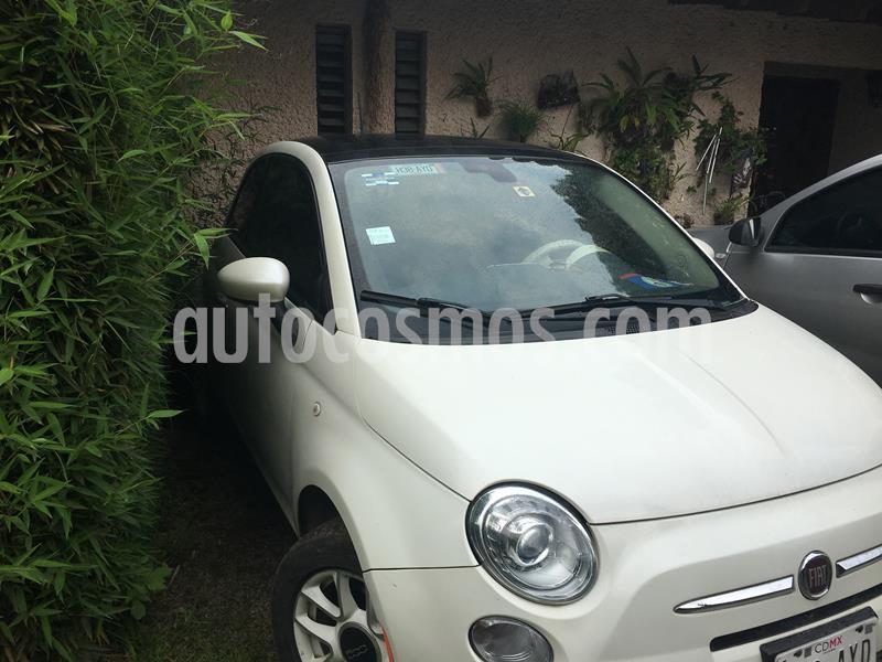 Fiat 500 Easy Aut usado (2016) color Blanco precio $169,000