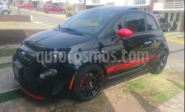 Fiat 500 Abarth Aut usado (2015) color Negro precio $190,000