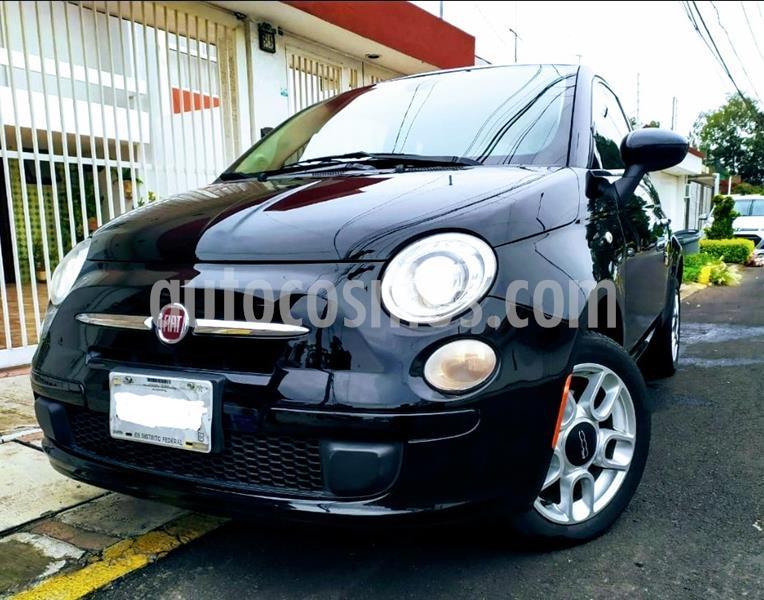Fiat 500 Pop usado (2014) color Negro precio $128,500