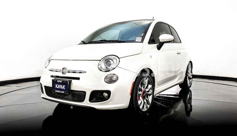 Fiat 500 Sport usado (2014) color Blanco precio $159,999