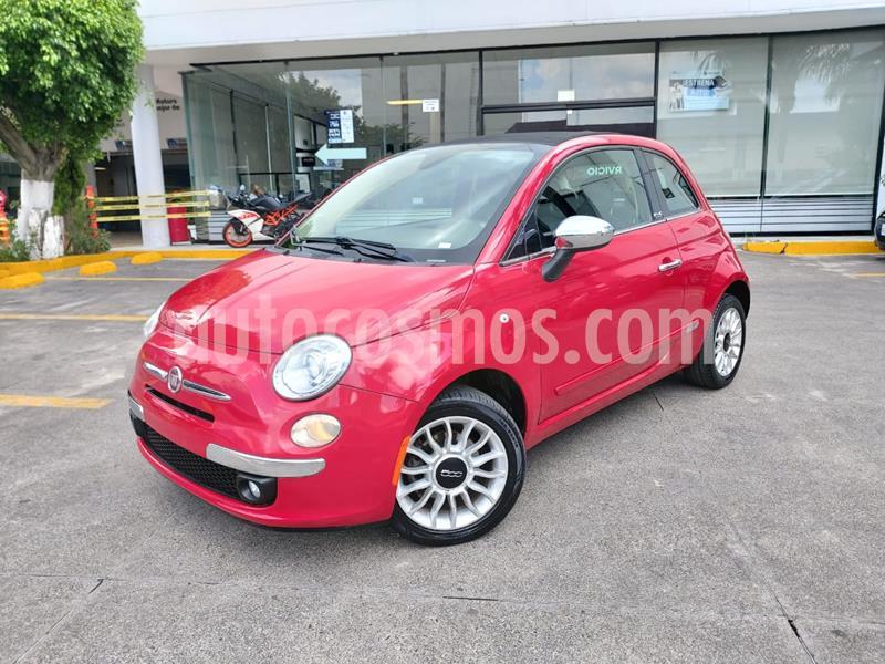 Fiat 500 Lounge Convertible usado (2013) color Rojo precio $169,000