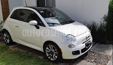 Fiat 500 Sport usado (2015) color Blanco precio $167,500