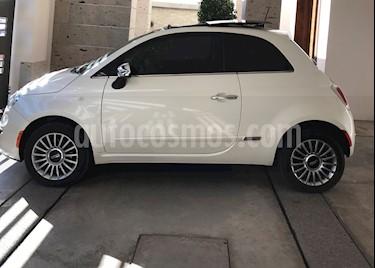 Fiat 500 Lounge Aut usado (2016) color Blanco Perla precio $185,000