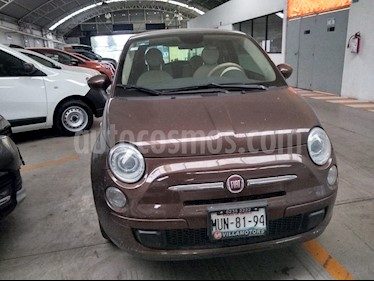 Fiat 500 Trendy usado (2015) color Marron precio $126,500
