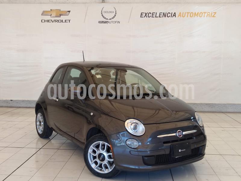 Fiat 500 Trendy Aut usado (2015) color Gris precio $143,000