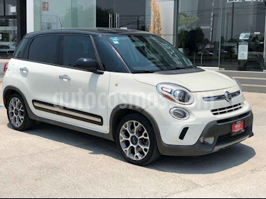 Fiat 500 3p 500L Trecking L4/1.4/T Aut usado (2016) color Blanco precio $245,000