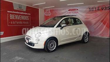 Fiat 500 Lounge Aut usado (2017) color Blanco precio $246,000