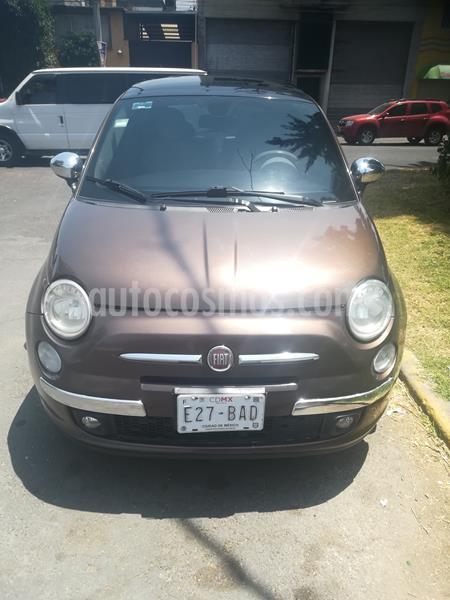 Fiat 500 Sport usado (2012) color Marron precio $110,000
