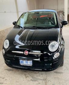 Fiat 500 Easy usado (2016) color Negro precio $175,000