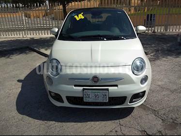 Fiat 500 Sport Aut usado (2014) color Blanco precio $152,900