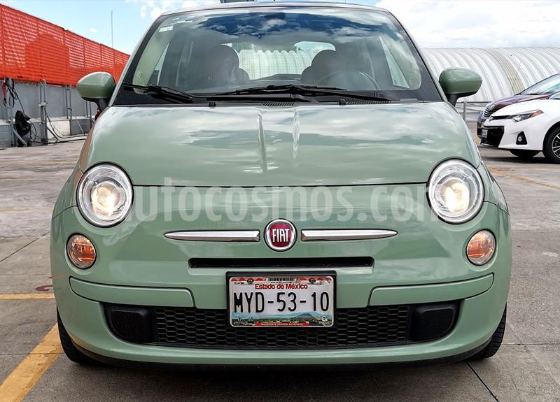 Fiat 500 Easy Aut usado (2016) color Verde Oliva precio $199,000