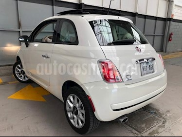 Fiat 500 Easy usado (2016) color Blanco precio $190,000