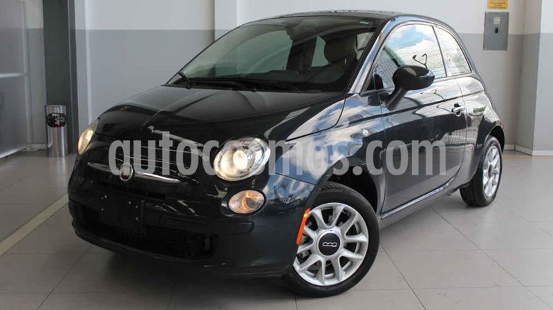 Fiat 500 Easy usado (2016) color Negro precio $180,000