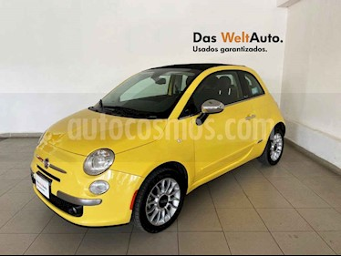 Fiat 500 Lounge Convertible usado (2012) color Amarillo precio $149,995