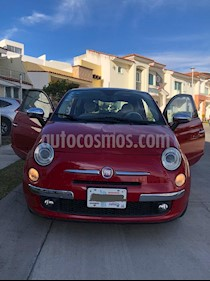 Fiat 500 Lounge Aut usado (2013) color Rojo precio $130,000