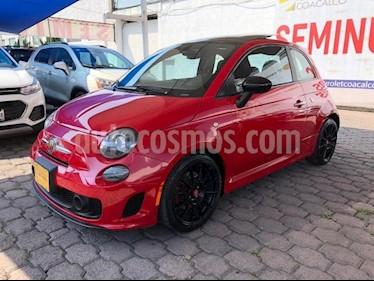 Fiat 500 Abarth Aut usado (2017) color Rojo precio $280,000