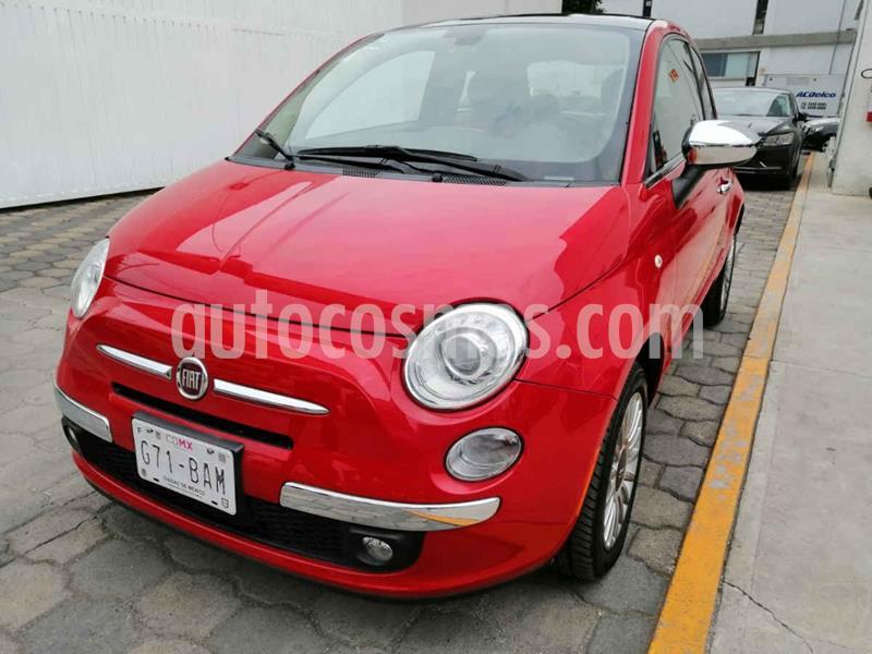 Fiat 500 Lounge usado (2016) color Rojo precio $199,000