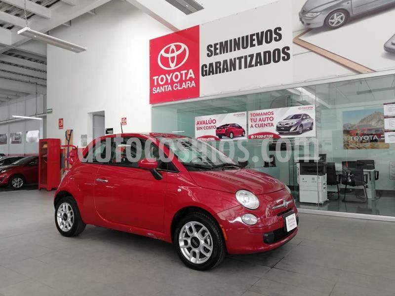 Fiat 500 Trendy usado (2015) color Rojo precio $135,000