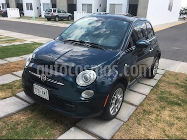 Fiat 500 Trendy usado (2015) color Verde Oscuro precio $125,000