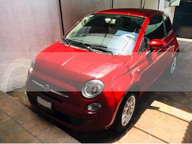 Fiat 500 Pop Aut usado (2012) color Rojo Perla precio $132,000