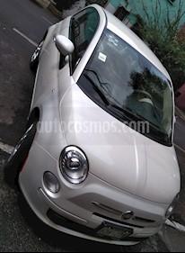Fiat 500 Pop Aut usado (2013) color Blanco Perla precio $115,000