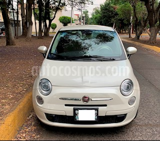 Foto venta Auto usado Fiat 500 Pop Aut (2013) color Blanco Perla precio $139,000