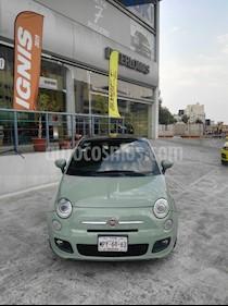 Foto venta Auto usado Fiat 500 Sport Aut (2013) color Verde Oliva precio $145,000