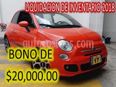 Foto venta Auto usado Fiat 500 Sport Aut (2017) color Naranja precio $275,900