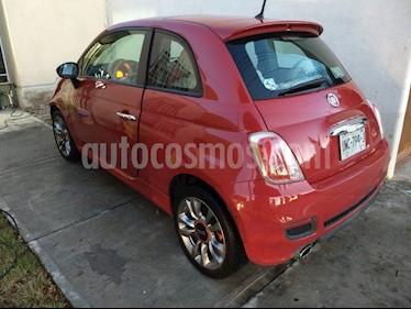 Fiat 500 Sport Aut usado (2014) color Rojo precio $163,000