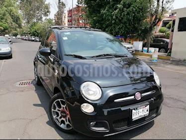 Fiat 500 Sport usado (2012) color Negro precio $110,000