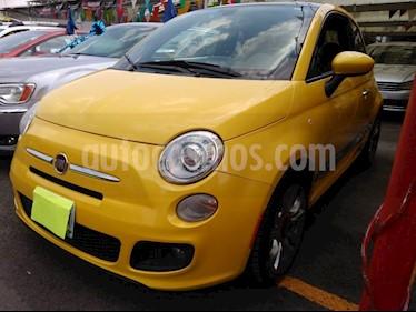 Foto venta Auto usado Fiat 500 Sporting Aut (2016) color Amarillo precio $169,900