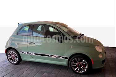 Foto venta Auto usado Fiat 500 Sporting Aut (2016) color Verde precio $188,000